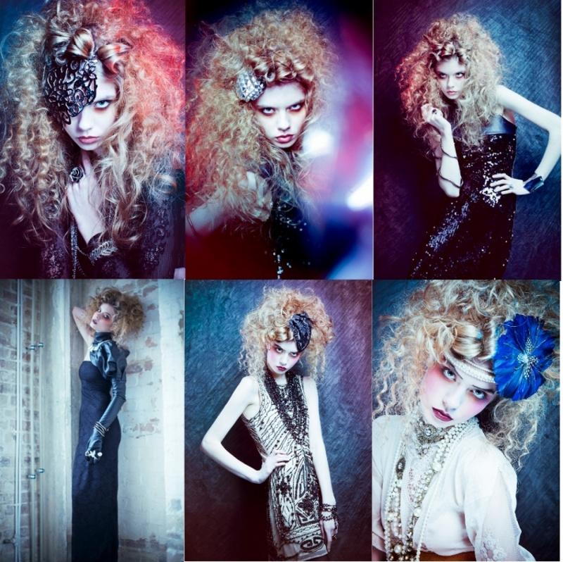 London Apr 08, 2011 Ksenia McBell Photographer: Ksenia McBell / MUA: Aga Borowa / Hairstylist: Evgeniya Vlasova / Model: Anastasia Filina @ Profile Model Management