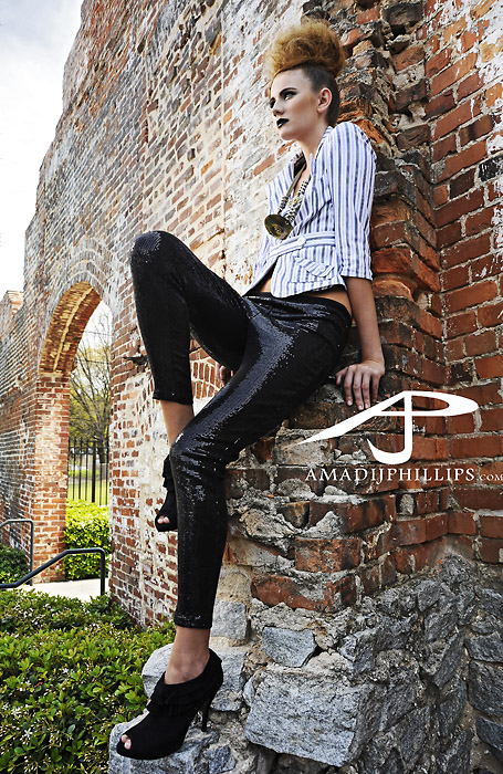 Male and Female model photo shoot of Photoculture and Christina Beckum in Atlanta, GA, makeup by SCHOLASTIC MAKEUP
