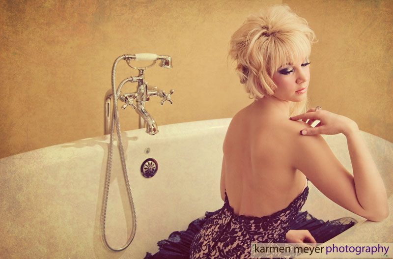 Female model photo shoot of Karmen Meyer Photograph in Edmonton, AB