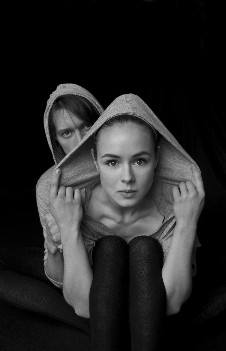 Male and Female model photo shoot of Mooreii and Devonny Sandrick by Trasyar Studio