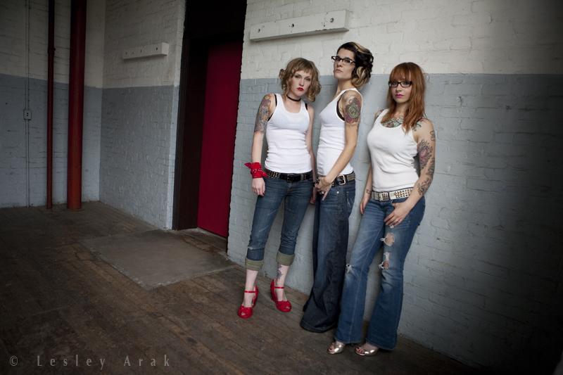 FNS Studios Apr 10, 2011 Lesley Arak Jeans+Beaters