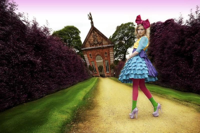 Castle Bromwich Gardens Apr 10, 2011 Adam Moffatt, Victoria Bramwell Alice in Wonderland