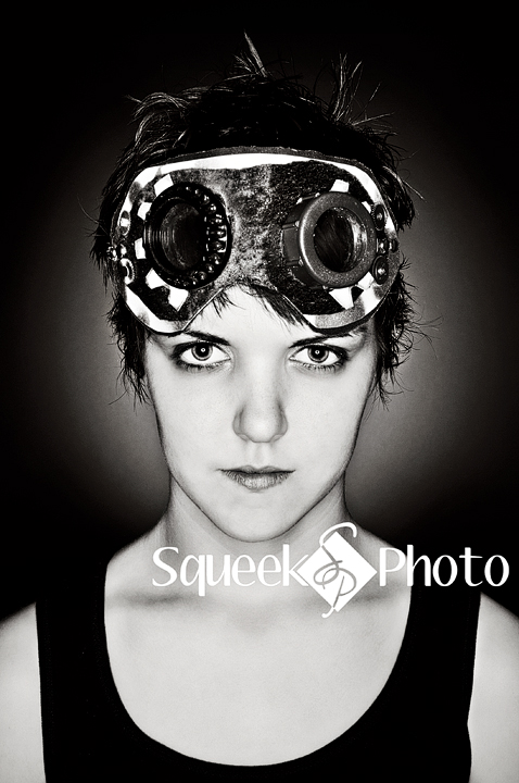 Squeek Studios Apr 11, 2011 ©SqueekPhoto Cosplayer - Lisa Mueller (steampunk character)