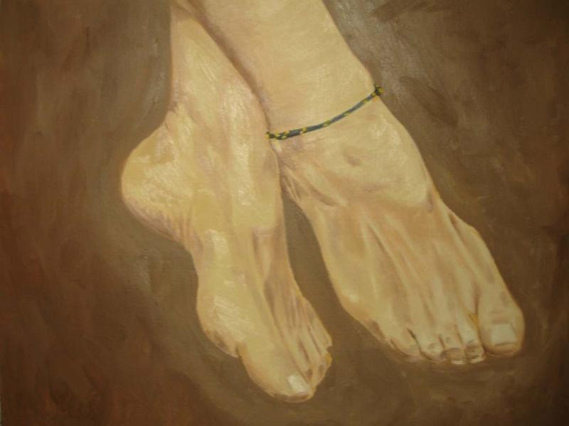 Apr 11, 2011 Sharons feet.