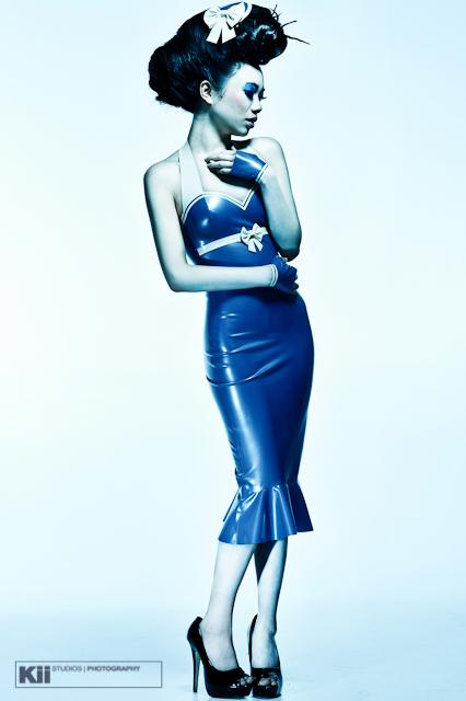 Apr 12, 2011 © Kii Studios & Photography 2011 Sailor style wiggle dress