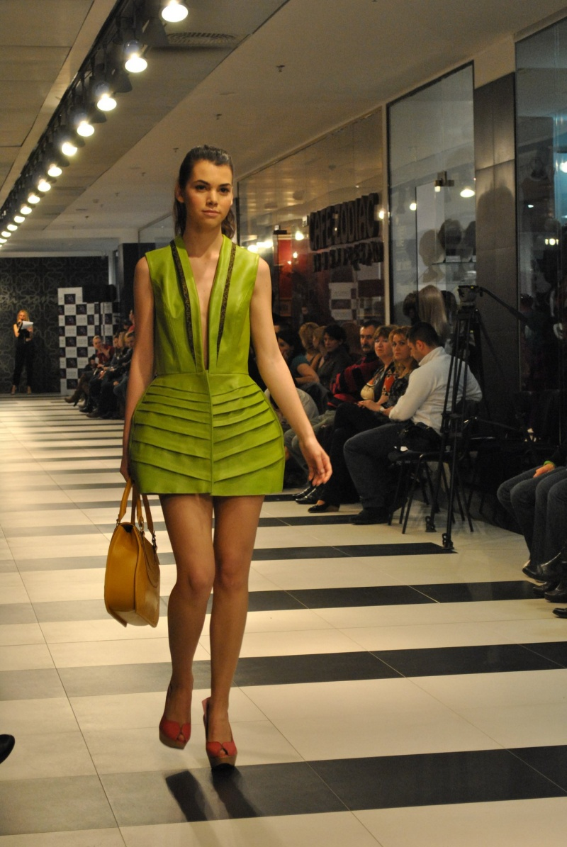 Female model photo shoot of Evelina B in Bucharest, Cocor Department Store