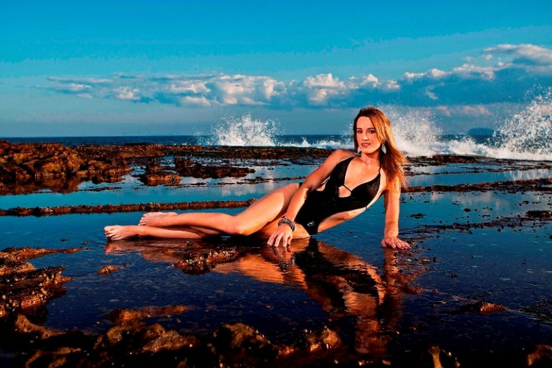 Female model photo shoot of Chanteik in Pretty Beach Central Coast