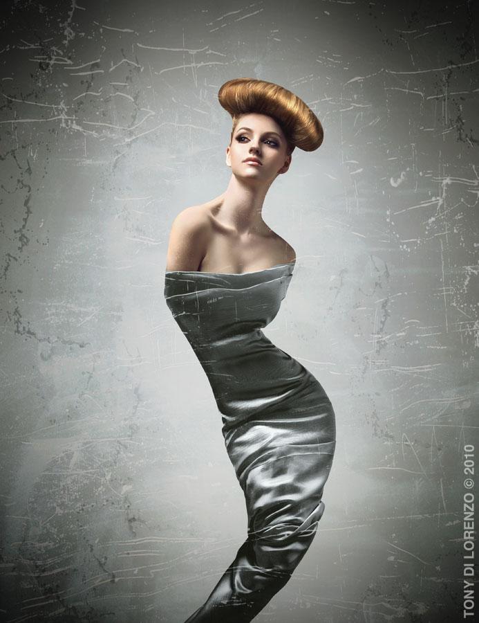 Toronto Apr 13, 2011 Photographer: Tony Di Lorenzo/ Make up:  Wendy Rorong/ Hair: Jenny Bell CanHair Mirror Awards 2011 Top5