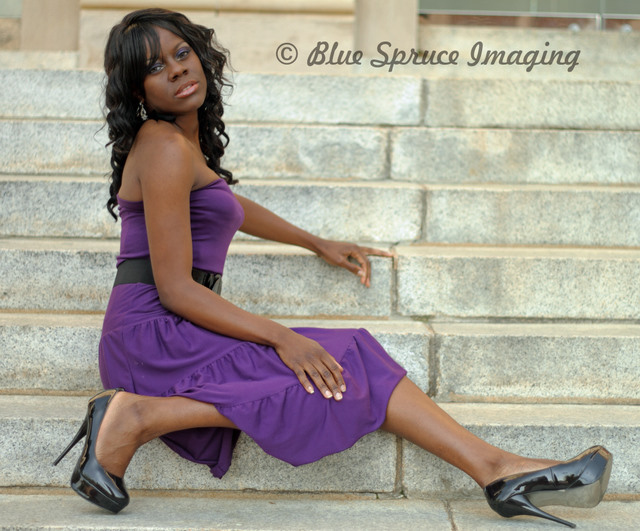 Female model photo shoot of Faith Le Supermodele by Blue Spruce Imaging in Greenville, SC