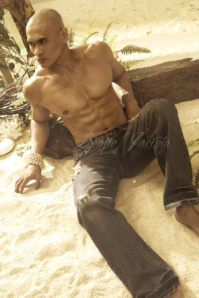 Male model photo shoot of Benjie Jacinto