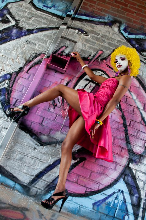 Nashville Apr 15, 2011 Wonderland Diva Clown