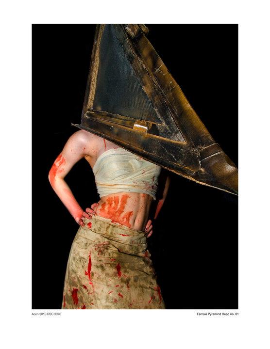 Apr 16, 2011 Mrs. Pyramid head