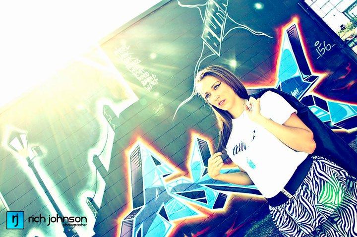 Female model photo shoot of AsylumFashionHouse and AlliRae by Rich Johnson in Down Town Orlando, FL