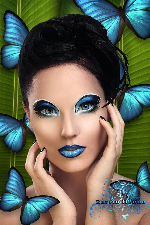 Female model photo shoot of Myth Photography and Hope Paivarinta in Zarrin Henna Studio