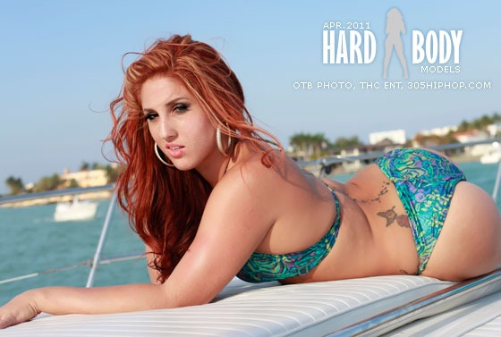 Miami, FL Apr 19, 2011 305 HipHop Magazine and OTB Photography Miss HardBody April shot by Eddie of PTB Photography