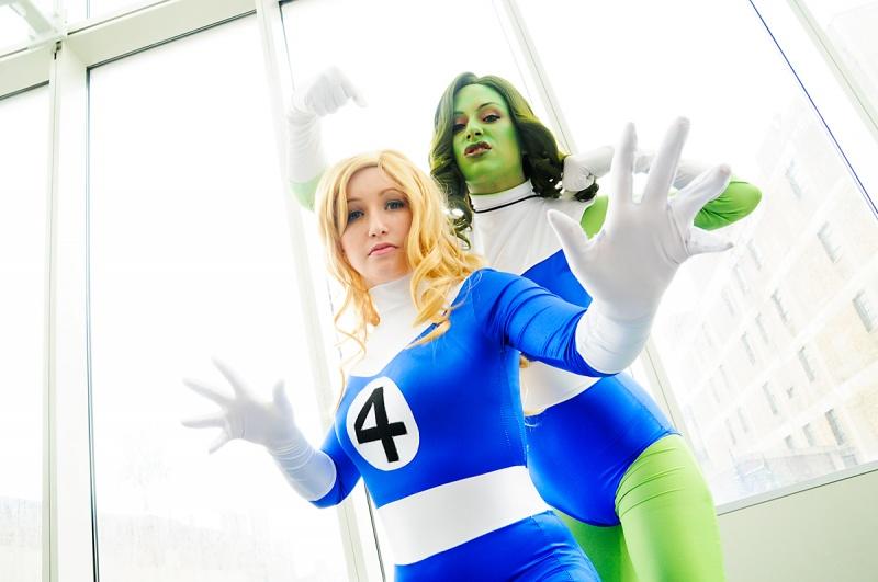 Chicago, IL Apr 19, 2011 2011 Fantastic Four; Invisible Woman