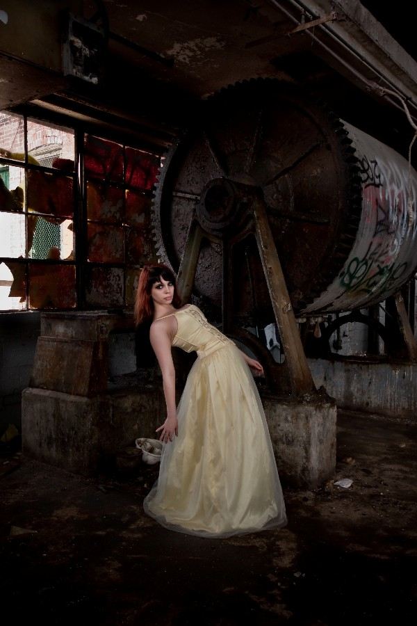 Female model photo shoot of Alice McGee by Aeoin Photography in Mystery