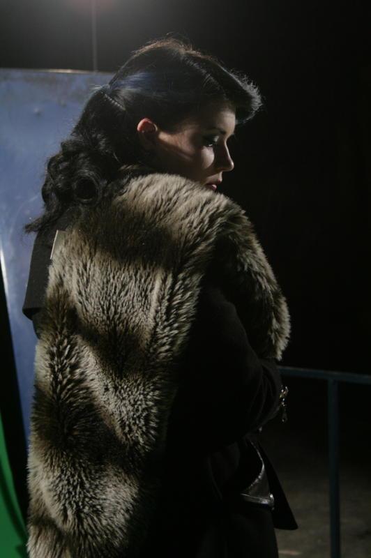 Female model photo shoot of Ms Blue Ruin in Jamestown Studios