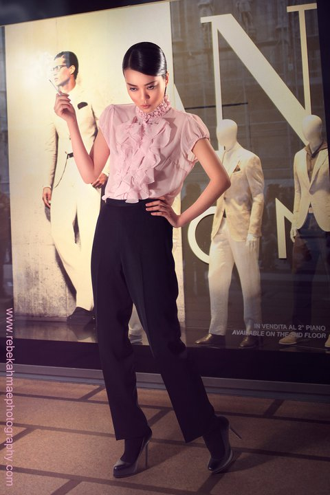 Female model photo shoot of Christy_Ai