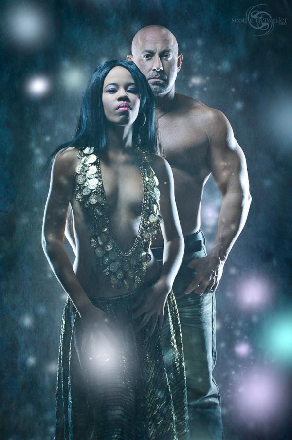 Apr 22, 2011 Scott Detweiler Queen of Damn! w/model Khyrie