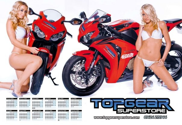 Apr 23, 2011 Louisa Ford Tearsheet - Top Gear/Fast Bikes Calendar