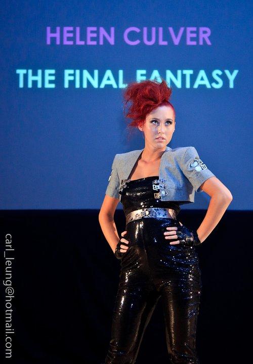 Birmingham Apr 26, 2011 Midlands Young Fashion Designers Catwalk.