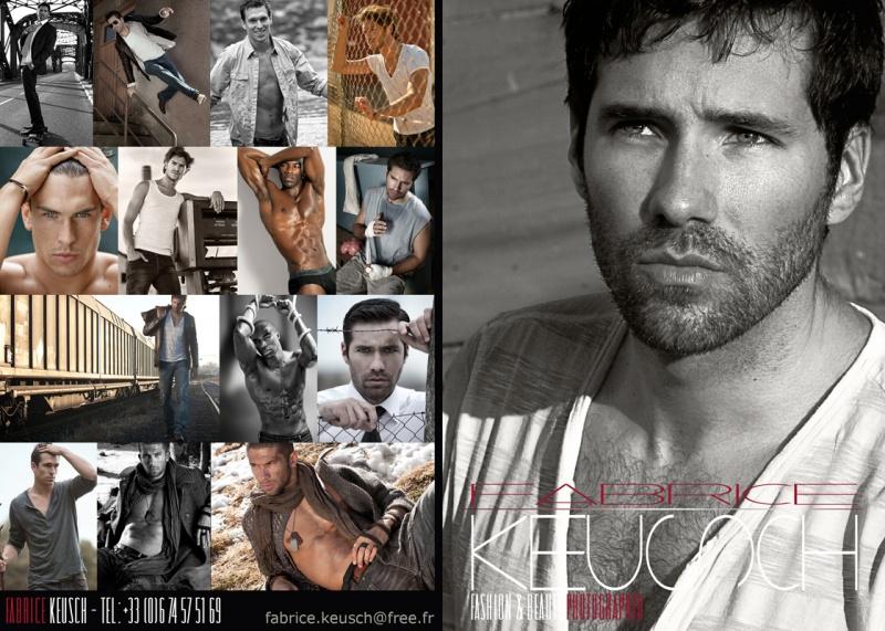 Male model photo shoot of Fabrice Keusch