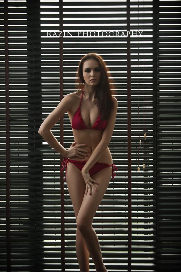 Male and Female model photo shoot of Razin Razor and jessica amornkuldilok in Bangkok