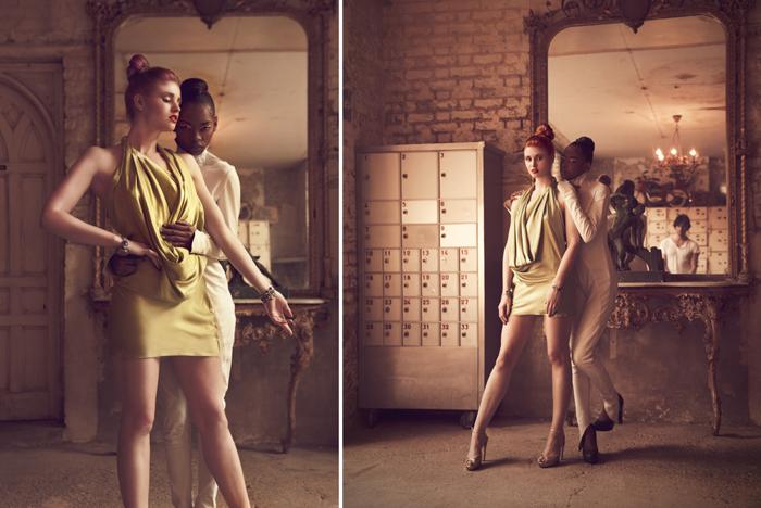 Female model photo shoot of Marina Brenere, Grace Gray  model and Cipriana Sequeira by Miss Aniela in MC Motors, wardrobe styled by FashionDose, makeup by Tati  MAKE UP- HAIR  and Ezme Thomas
