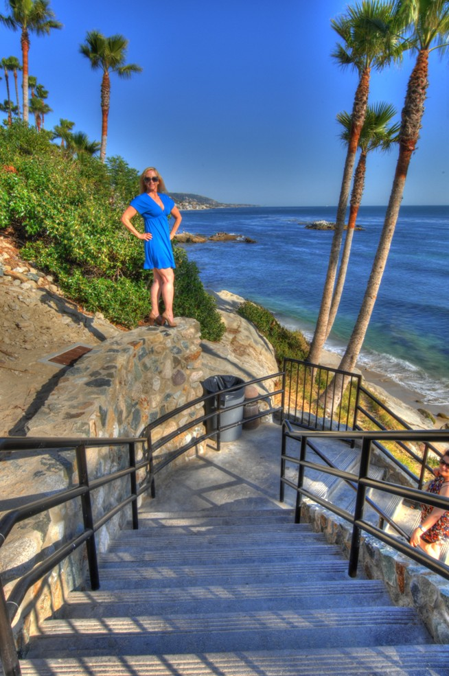 Laguna Beach, California, USA Apr 30, 2011 HD Photo Tours Carol at Laguna Beach