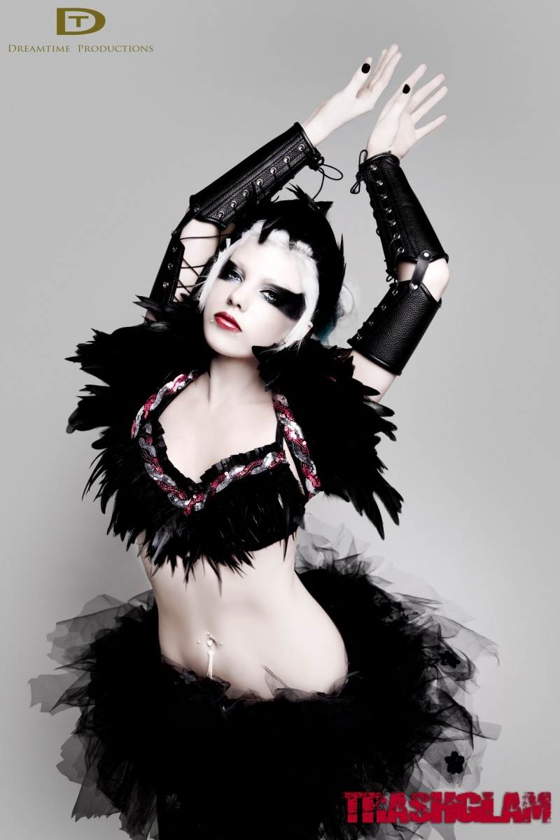 Sydney, NSW May 02, 2011 Trashglam, Dreamtime Productions Black Swan