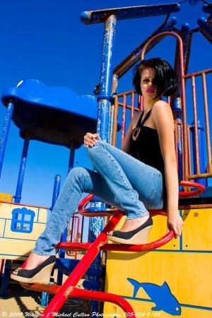 Female model photo shoot of Bianka Martinez