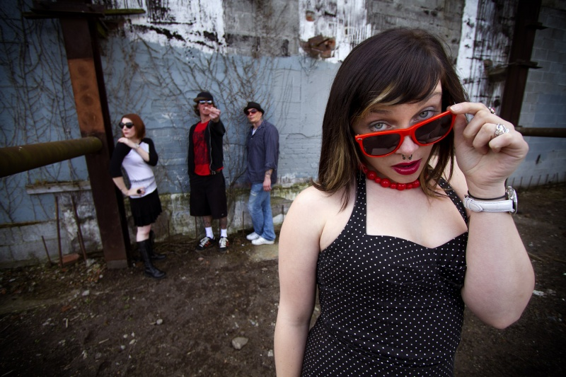 Female model photo shoot of KT Wright in Seattle WA