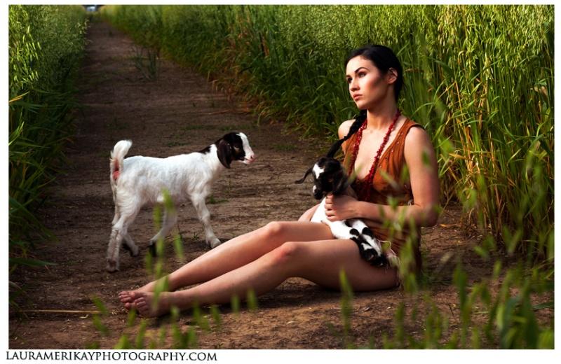 Baton Rouge, LA May 04, 2011 Laura Merikay Photography Goat Handler: Rebecca Lirette