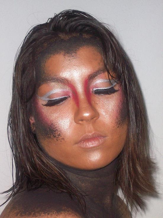 Female model photo shoot of Blu Rayne