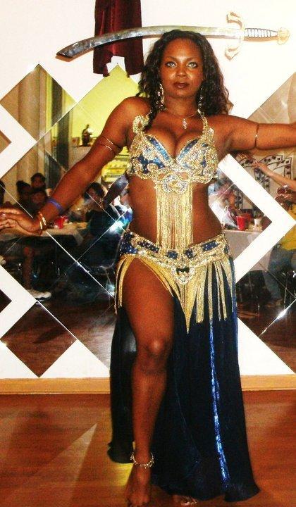 Female model photo shoot of Blu Rayne in Belly Dance Hafla