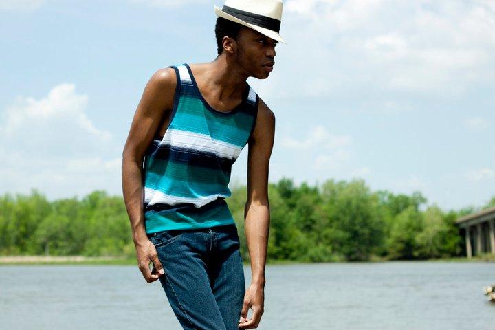 Male model photo shoot of Vance 07 in chester Docks