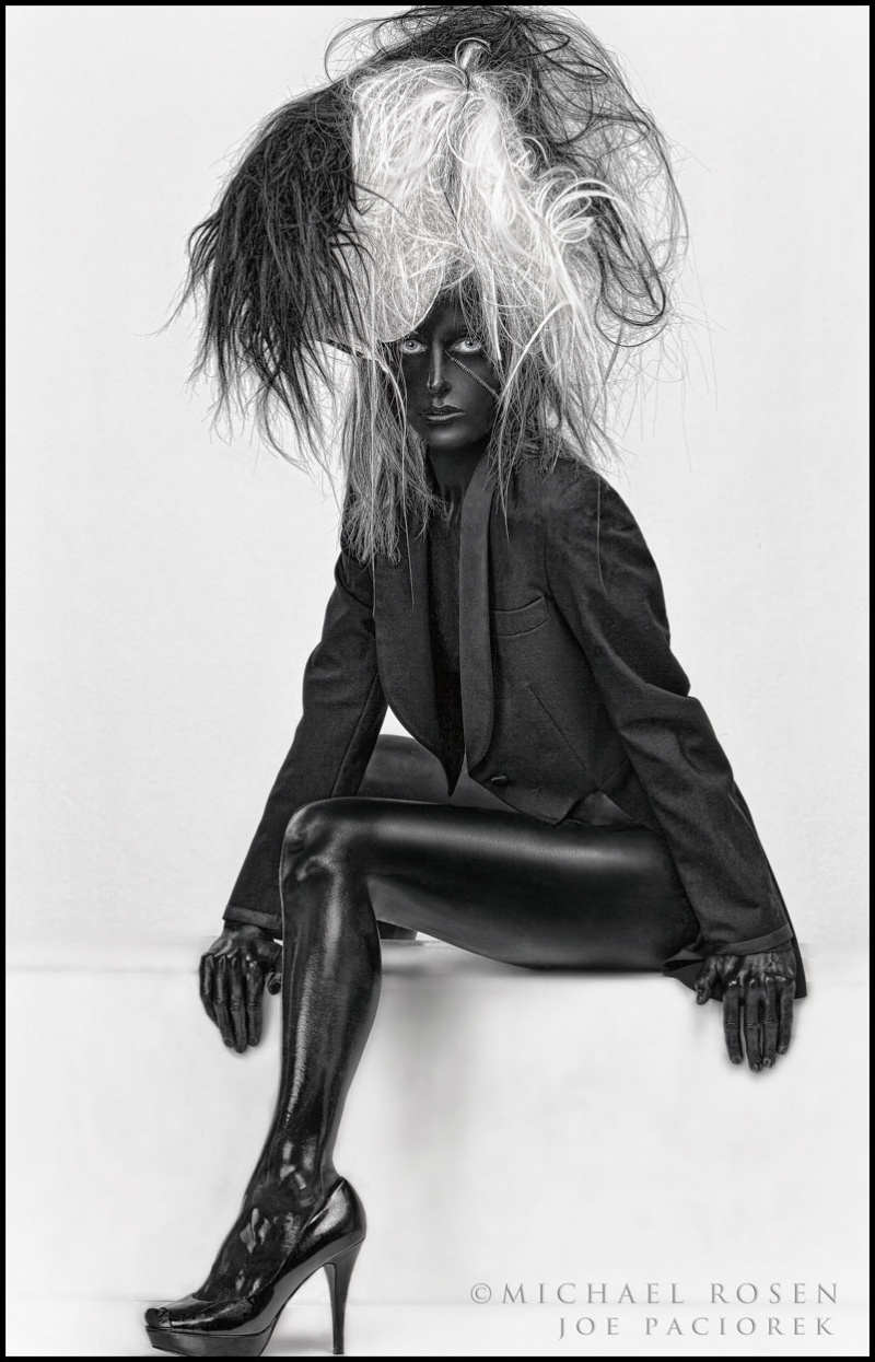 Male model photo shoot of Michael Rosen - Chicago in Rosen studio...chicago, makeup by Mark Schmudde