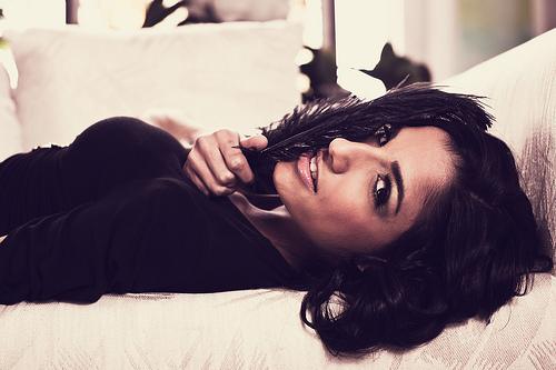 Female model photo shoot of Rebecca  Horn