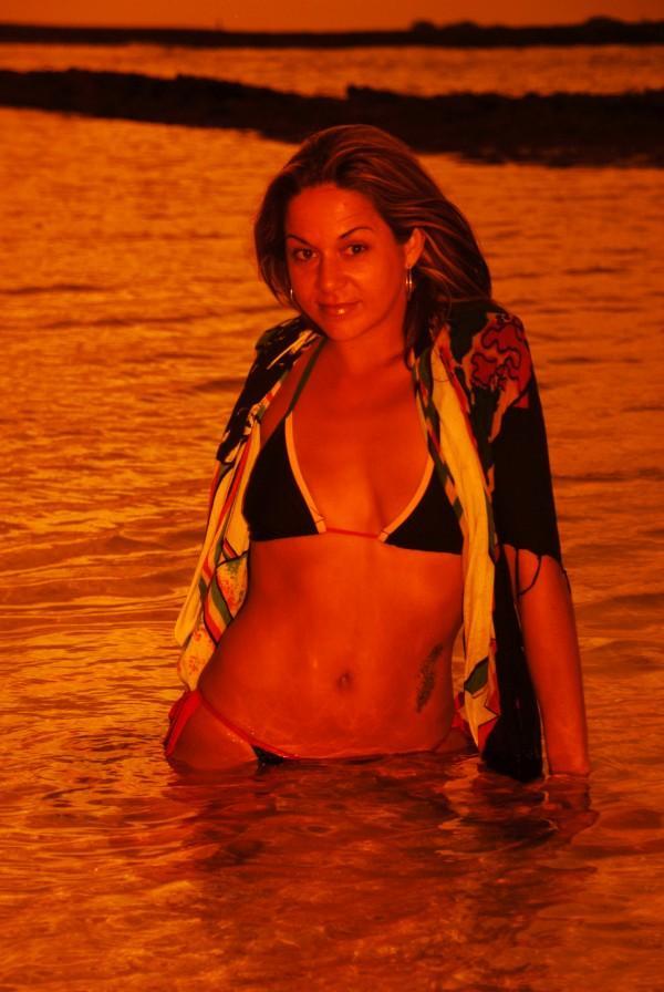 Female model photo shoot of BreeZy in beach