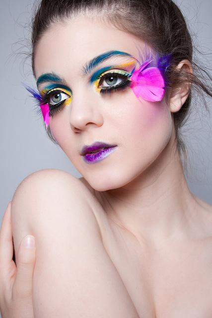 Female model photo shoot of andrea rangel by Ruby Alvarado in Quartz Hill, Ca, makeup by andrea rangel