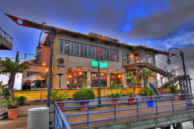 Santa Monica Pier, California, USA May 06, 2011 HD Photo Tours Marisol Restaurant