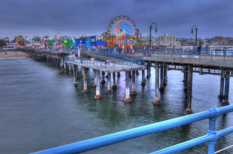 Santa Monica, California, USA May 06, 2011 HD Photo Tours Santa Monica Pier