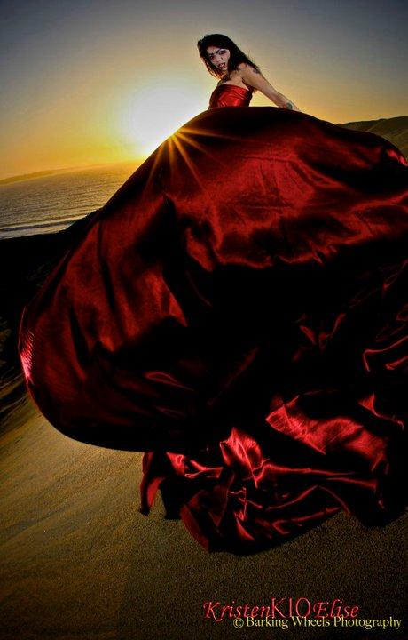 Seaside, CA May 10, 2011 ©Barking Wheels Photography Sunset Vampire