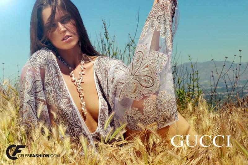 Los Angeles May 11, 2011 Celebfashion Gucci Fashion Model