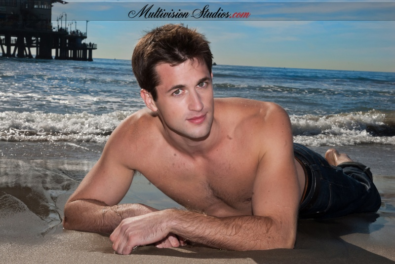 Male model photo shoot of Multivision Studios
