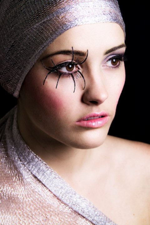 Female model photo shoot of MissChar by Jacqueline Clare Morris, makeup by Kirsty Dolores Makeup