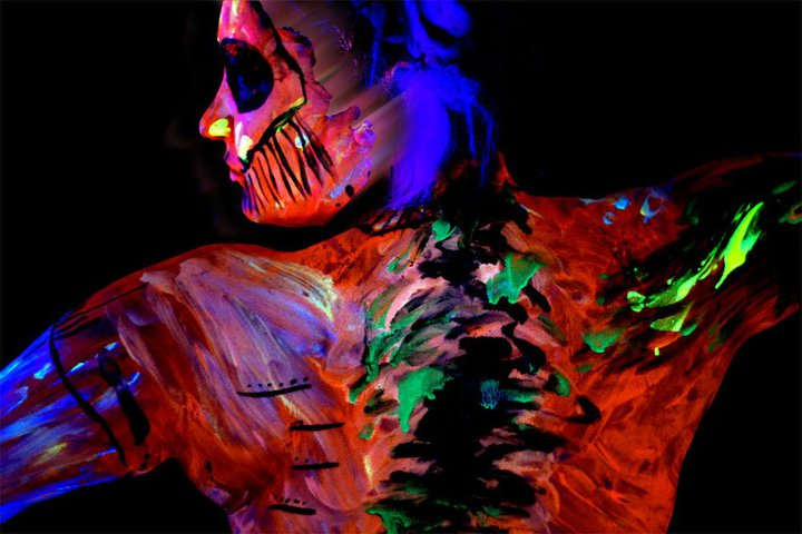 Kansas City, MO. May 12, 2011 Photographer Rick Andersen, Body Paint Andy OHare, Hair stylist Shannon Layton GLOW 2010