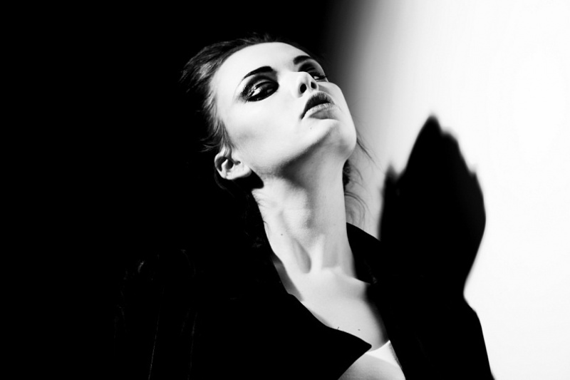 Female model photo shoot of Polina-Z