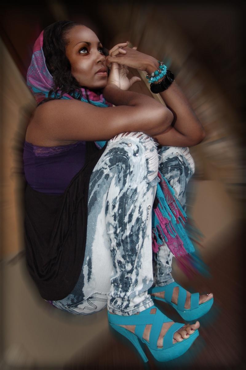 Female model photo shoot of Blu Rayne by E P S International in Jacksonville